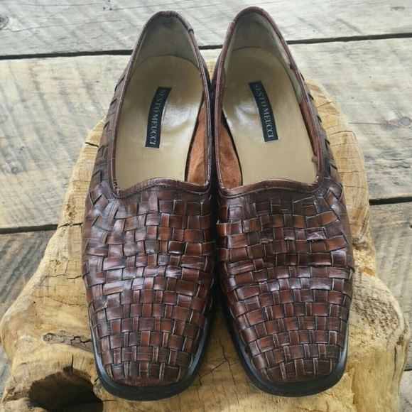 Sesto Meucci Shoes - Sesto Meucci basket weave casual shoes